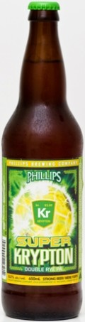 Phillips Super Krypton Double Rye PA - Imperial/Double IPA