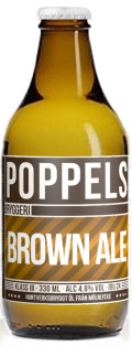 Poppels Brown Ale Vinterutg�va - Brown Ale