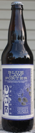 Epic Blue Law Porter - Porter