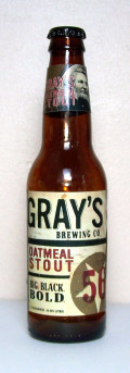 Grays Oatmeal Stout - Sweet Stout