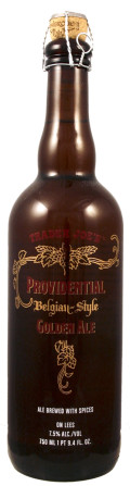 Trader Joes Providential Belgian Style Golden Ale - Belgian Strong Ale