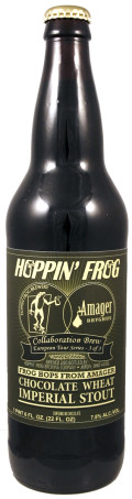 Hoppin Frog / Amager Frog Hops From Amager - Imperial Stout