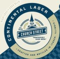 Church Street Continental Lager - Pale Lager