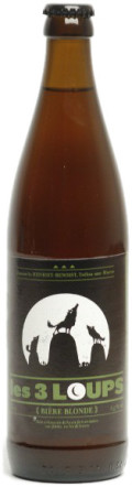 Les 3 Loups Blonde - Golden Ale/Blond Ale