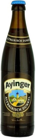 Ayinger Altbairisch Dunkel - Dunkel/Tmav