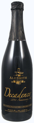 AleSmith Barrel Aged Decadence 2011 - Barley Wine