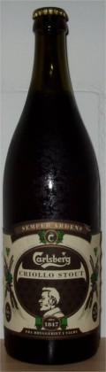 Carlsberg Semper Ardens Criollo Stout - Sweet Stout