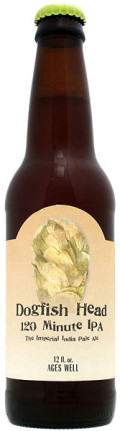 Dogfish Head 120 Minute IPA - American Strong Ale
