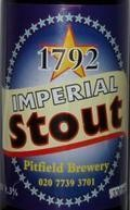 Pitfield 1792 Imperial Stout - Imperial Stout