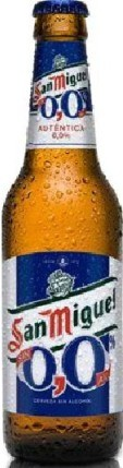 San Miguel 0,0% (Sin) - Low Alcohol