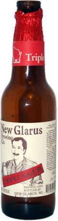 New Glarus Unplugged Triple - Abbey Tripel
