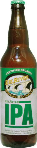 Eel River Certified Organic India Pale Ale - India Pale Ale (IPA)