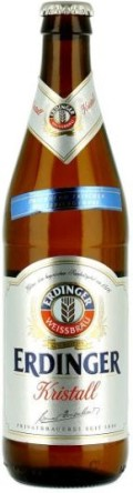 Erdinger Weissbier Kristallklar - German Kristallweizen