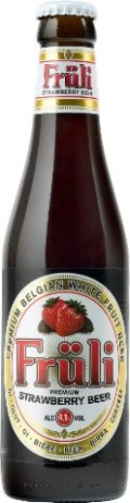 Van Diest Fr�li Strawberry Beer - Fruit Beer