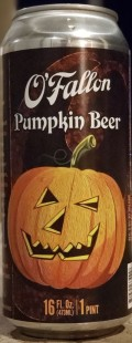 OFallon Pumpkin Beer - Spice/Herb/Vegetable
