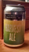 Olivers Harvest Ale - English Pale Ale