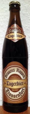 Roppelt-Bru Lagerbier - Zwickel/Keller/Landbier