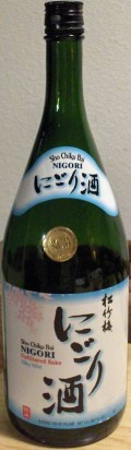 Sho Chiku Bai &#40;Pine Bamboo Plum&#41; Nigori Sake - Sak - Nigori