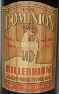 Dominion Millennium Oak Aged - Barley Wine