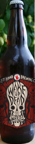 Left Hand Wake Up Dead Barrel-Aged Imperial Stout - Imperial Stout