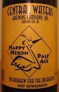 Central Waters Happy Heron Pale Ale - American Pale Ale