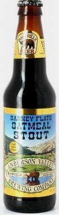 Anderson Valley Barney Flats Oatmeal Stout - Stout