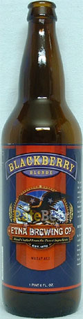 Etna Blackberry Blonde - Fruit Beer