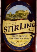 Traditional Scottish Ales City of Stirling 80/- - Premium Bitter/ESB
