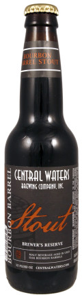 Central Waters Brewers Reserve Bourbon Barrel Stout - Imperial Stout