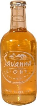 Savanna Light Premium Cider - Cider