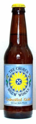 Church Brew Celestial Gold - Premium Lager