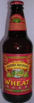 Sierra Nevada Wheat - Wheat Ale