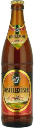 Distelhuser Landbier - Dunkel/Tmav
