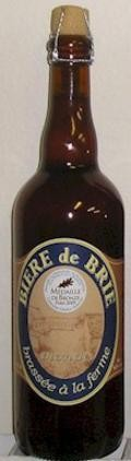 Gaillon Bi�re De Brie Blonde - Bi�re de Garde