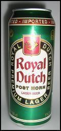 Royal Dutch Post Horn  - Pale Lager
