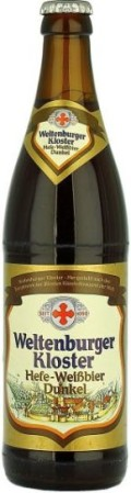 Weltenburger Hefe-Weissbier Dunkel - Dunkelweizen