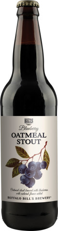 Buffalo Bills Blueberry Oatmeal Stout - Fruit Beer