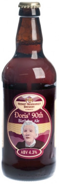 Hesket Newmarket Doris 90th Birthday Ale - Bitter
