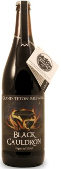Grand Teton Black Cauldron Imperial Stout - Imperial Stout