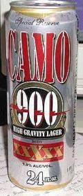 Camo 900 High Gravity Lager - Malt Liquor