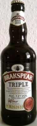 Brakspear Triple &#40;7.2%&#41; - English Strong Ale