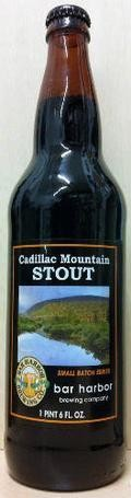 Bar Harbor Cadillac Mountain Stout - Dry Stout