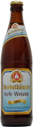 Herbsthuser Hefe-Weizen Hell - German Hefeweizen