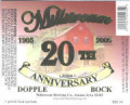 Millstream 20th Anniversary Dopplebock - Doppelbock