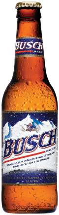 Busch Beer - Pale Lager