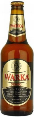 Warka Strong  - Strong Pale Lager/Imperial Pils