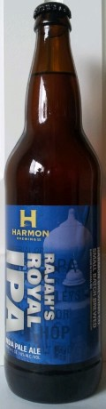 Harmon Rajahs Royal IPA - Imperial/Double IPA