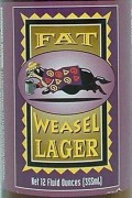 Fat Weasel Lager - Pale Lager
