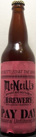 McNeills Pay Day - Pale Lager