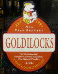 Old Bear Goldilocks - Golden Ale/Blond Ale